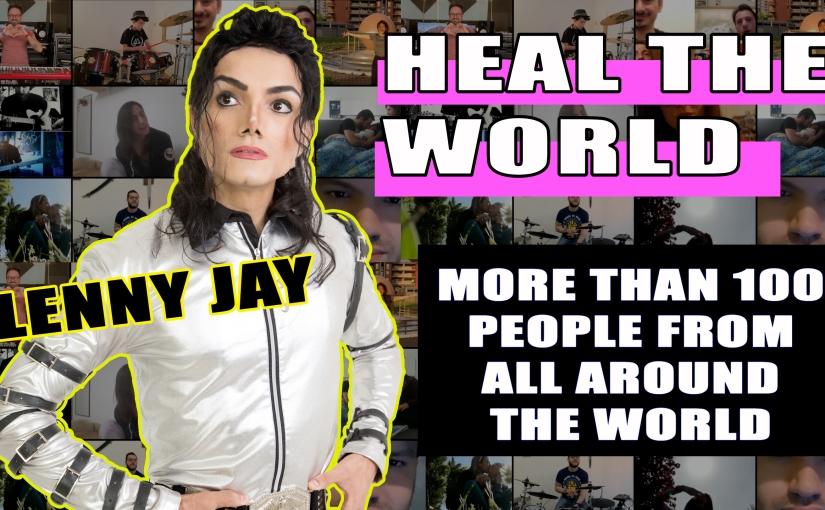 La speranza di 150 persone per un videoclip su HEAL THE WORLD diJACKSON