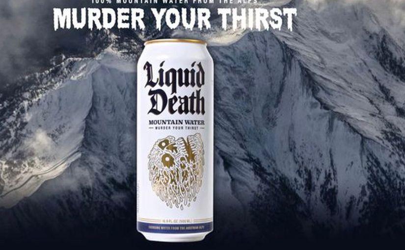 Intervista al Ceo di LIQUID DEATH, l'acqua in lattina che uccide la sete, la plastica e inserisce gli haters in un vinile death metal da12″